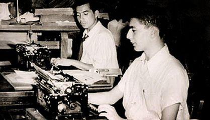 Vargas Llosa. Periodista, a sus 16 años
